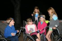 Enjoyment round the campfire